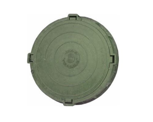 Песчано-полимерный люк 760мм с 4-мя упорами