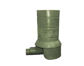 Основание колодца (лоток 3 входа) d 630 мм, ОК-ЛС-630-1400