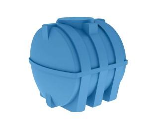 Бак горизонтальный для воды  или топлива БГ-2000 литров