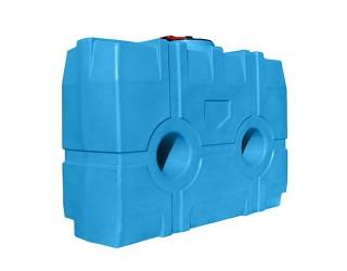 Бак горизонтальный для воды  или топлива БВ - 2000 литров