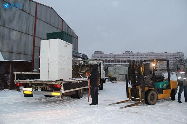 Доставка станции Астра-8 Миди на объект