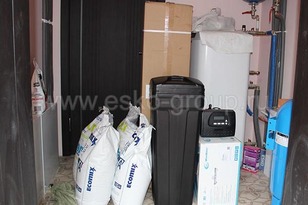 Комплект оборудования для системы очистки воды в коттедже