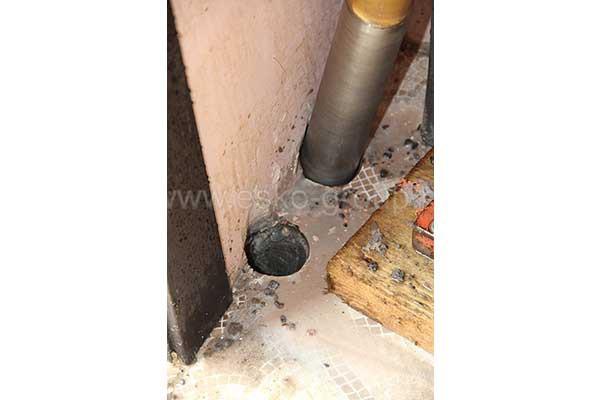 Бурение отверстий в бетонном фундаменте
