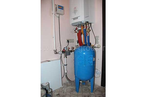 Автоматика системы водоснабжения коттеджа в сборе