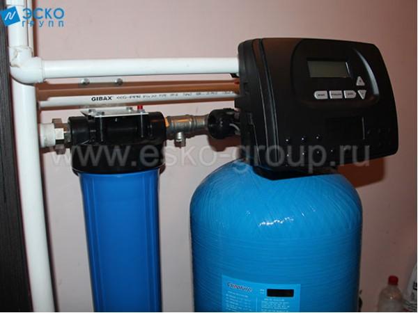 Монтаж системы очистки питьевой воды