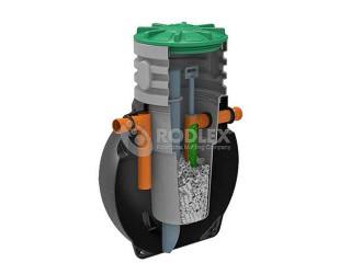 Септик Rodlex  BioBox2-1,5 с биофильтром